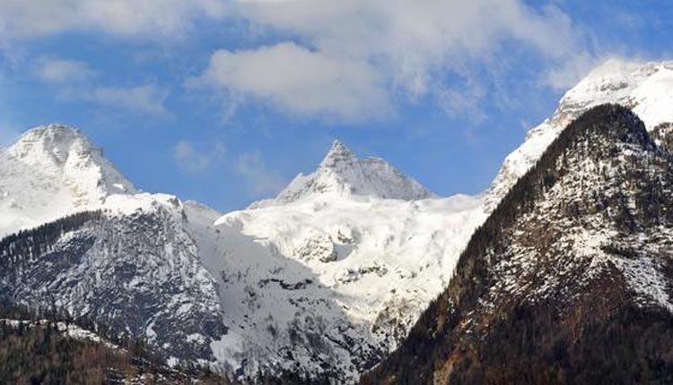 Hotel Zum Schweizer ligt in een geweldig berglandschap