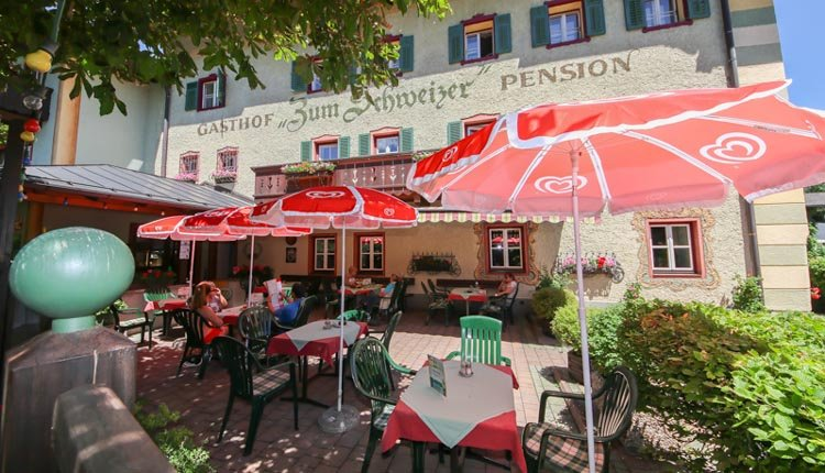 Hotel Zum Schweizer - terras