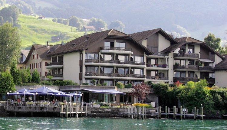 Hotel Nidwaldnerhof in Beckenried aan het Viervoudstedenmeer