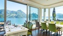 Hotel Nidwaldnerhof - restaurant met panoramisch uitzicht