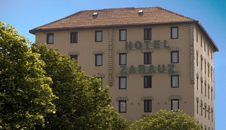 Hotel Zarauz - buitenkant
