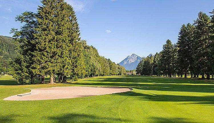Op 5 minuten van Hotel Bunda Davos ligt de 18-holes golfbaan
