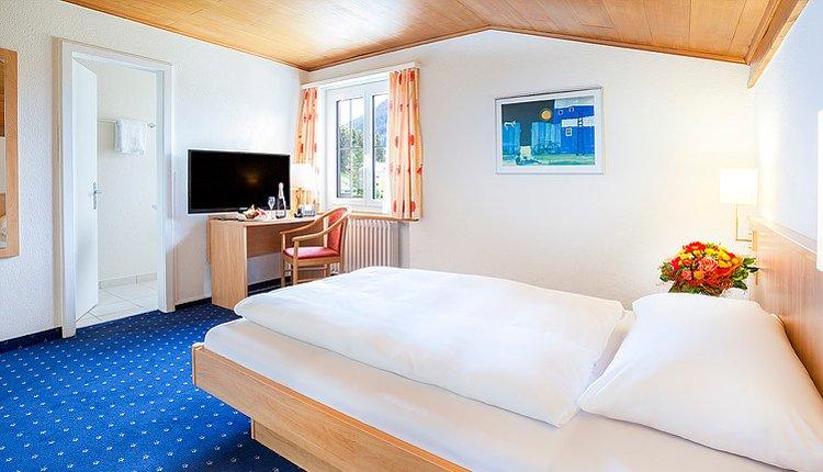 Hotel Bunda Davos - 1-persoonskamer
