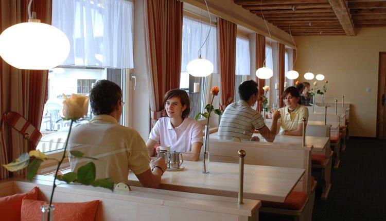 Hotel Bunda Davos - restaurant