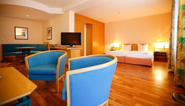 De junior suite in Seehotel Großherzog von Mecklenburg