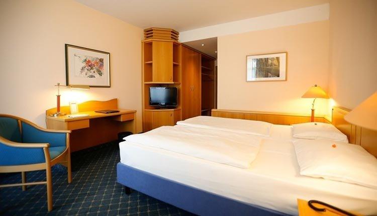 De tweepersoonskamers in Seehotel Großherzog von Mecklenburg zijn comfortabel