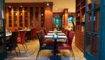 Het sfeervolle restaurant van Hotel Kaufmannshof