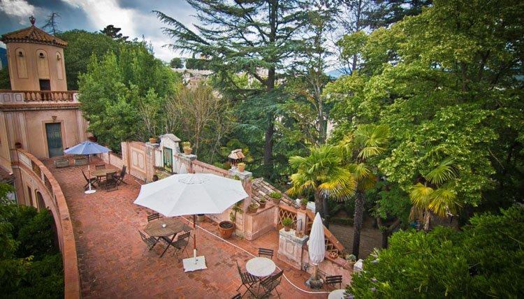 Hotel Els Jardins de la Martana - terras