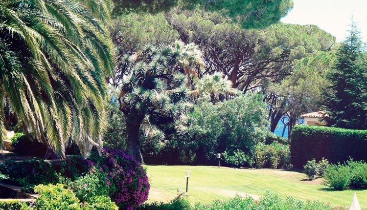 De prachtige tuin van Hotel Les Jardins de Ste Maxime