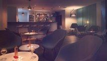 De bar van Hotel Les Jardins de Ste Maxime
