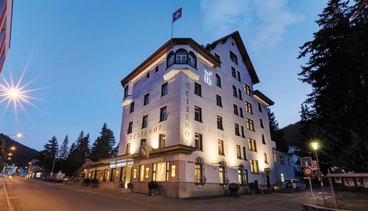Hotel Meierhof in Davos, Zwitserland