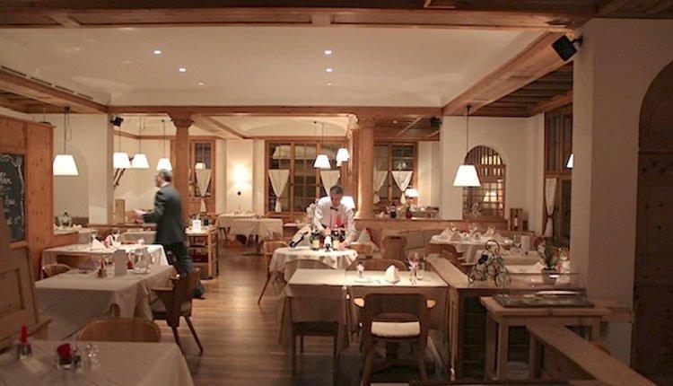 Er wordt veel aandacht besteed aan eten en drinken in Hotel Meierhof