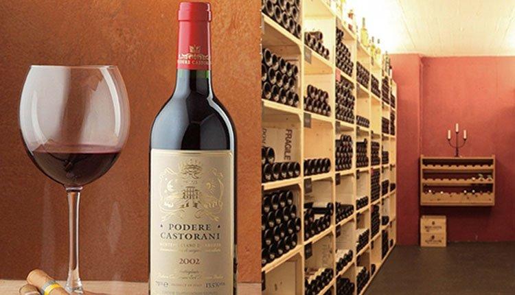 De wijnkelder van Hotel Meierhof