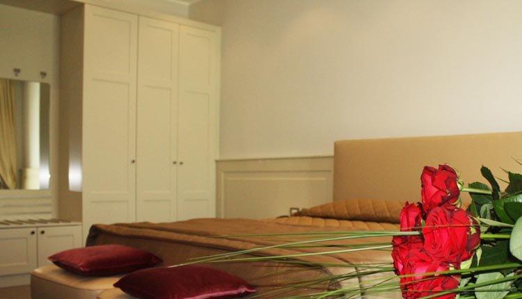 De tweepersoonskamers van Santa Caterina Park Hotel zijn van alle gemakken voorzien
