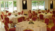 Het restaurant van Santa Caterina Park Hotel
