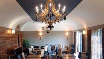 De ontbijtruimte in Santa Caterina Park Hotel