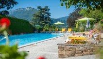 Het mooie zwembad van Hotel Du Lac