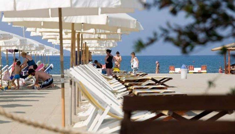 Hotel King - strand