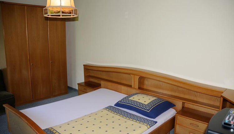 Strandhotel Weyregg - 1-persoonskamer