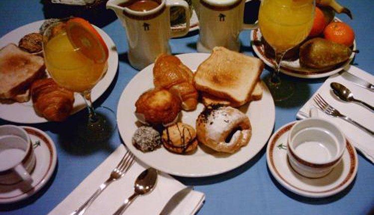 Start de dag met een lekker ontbijt bij Hotel Ciudad de Haro