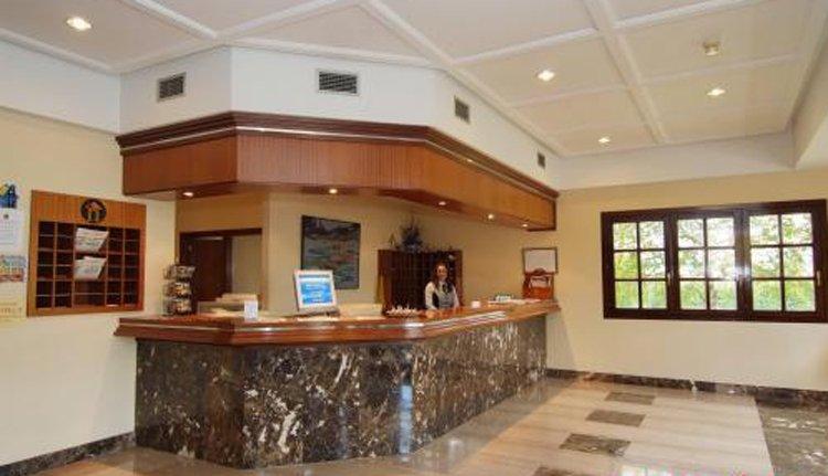 Hotel Ciudad de Haro - receptie