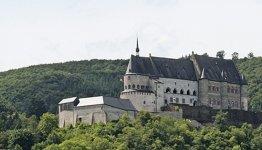 Chateau van Vianden, vlakbij Hotel des Ardennes in Hoscheid