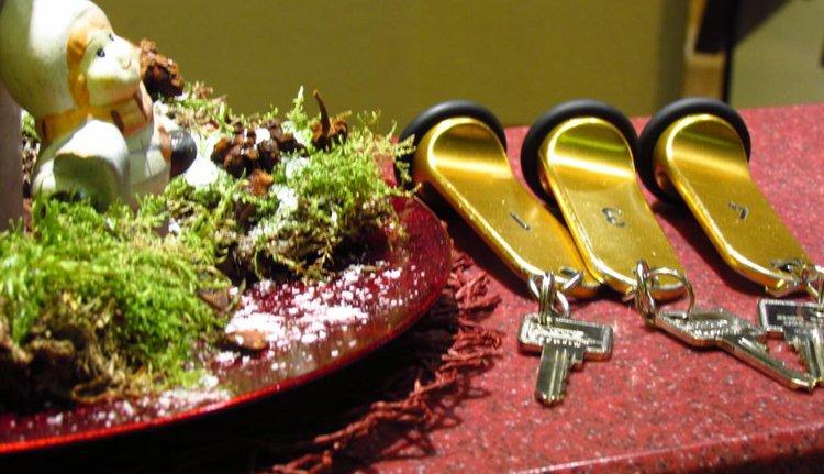 Hotel des Ardennes - sleutels
