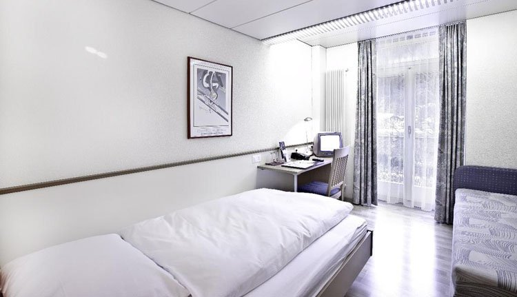 Parkhotel du Sauvage - 1-persoonskamer