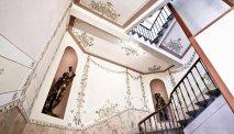 Een trappenhuis met grandeur in Parkhotel du Sauvage