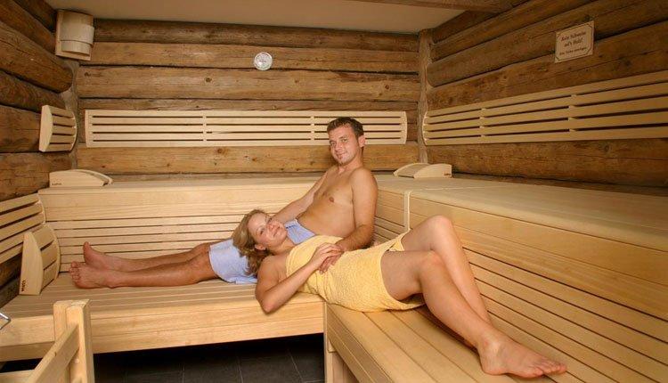 Hotel Weiss - ontspannen in de sauna