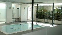 Hotel Weiss - klein binnenbad met apart kinderbad