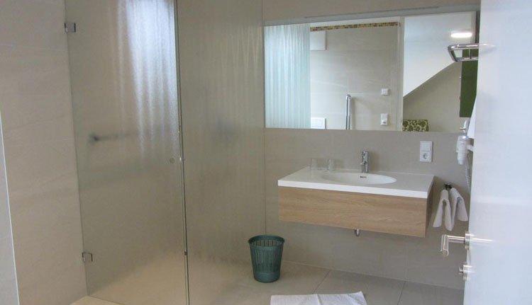 Hotel Weiss - badkamer
