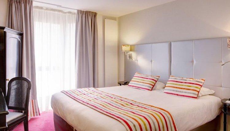 De tweepersoonskamers in Best Western Plus L'Artist Hotel zijn comfortabel
