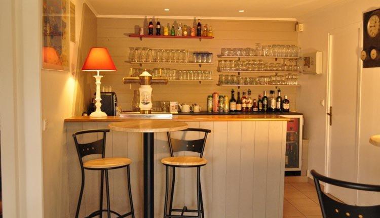 De bar van Hotel La Rosière