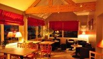 Het restaurant van Hotel La Rosière