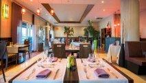 Het sfeervol ingerichte restaurant van Best Western La Marina