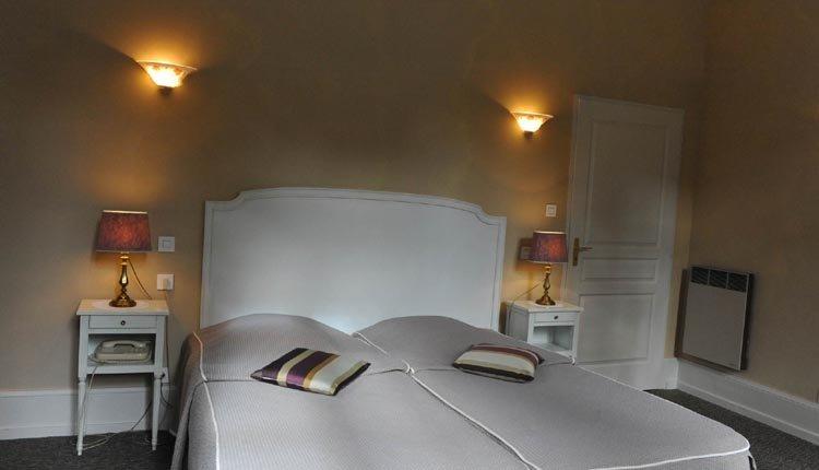 """De tweepersoonskamers """"Residence"""" in Hotel La Residence zijn sfeervol ingericht"""