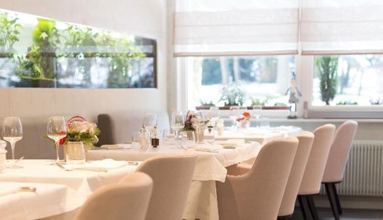 Het gezellige restaurant van Hotel La Residence