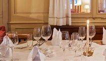 Het sfeervolle restaurant van Hotel Rössle