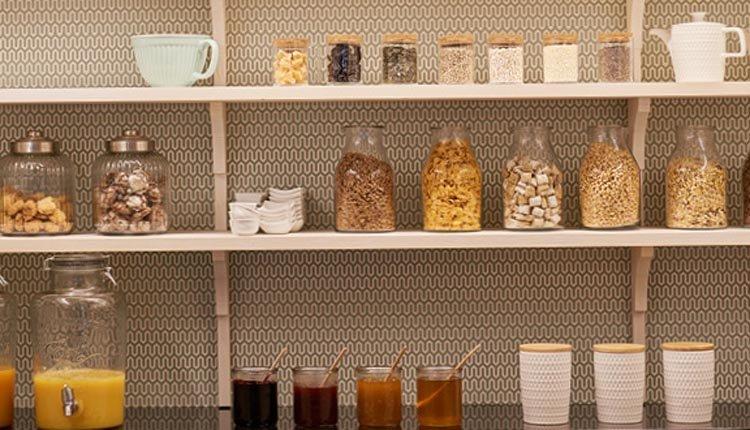 Elke morgen staat er een uitgebreid ontbijtbuffet klaar in Hotel Rössle