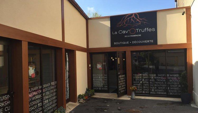 Auberge des Moissons - winkeltje met truffelproducten