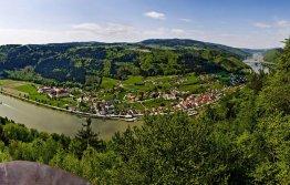 Panoramauitzicht Penzenstein, Oostenrijk
