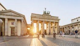 De Brandenburger Tor in Berlijn - Duitsland