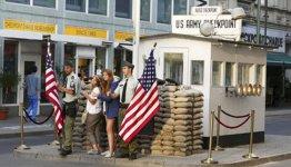 Checkpoint Charlie in Berlijn - Duitsland