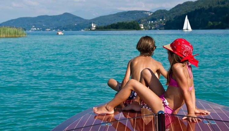 Hotel Villa Flora - heerlijk bootje varen over de Wörthersee