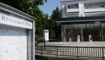 De entree van Hotel Post Velden