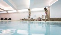Het zwembad van Hotel Los Andes