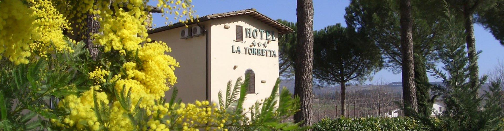 Hotel la Torretta in Umbrië