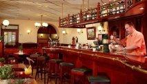 De gezellige bar in Hotel Belle Vue in Vianden