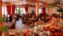 Elke morgen staat er een uitgebreid ontbijtbuffet klaar in Hotel Belle Vue in Vianden